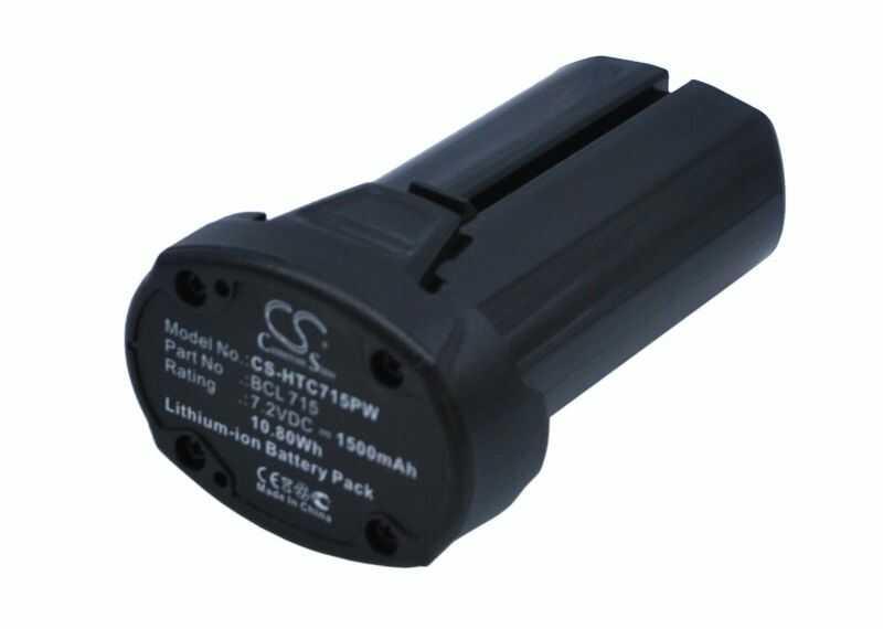Hitachi WH7DL / BCL 715 1500mAh 10.80Wh Li-Ion 7.2V (Cameron Sino)
