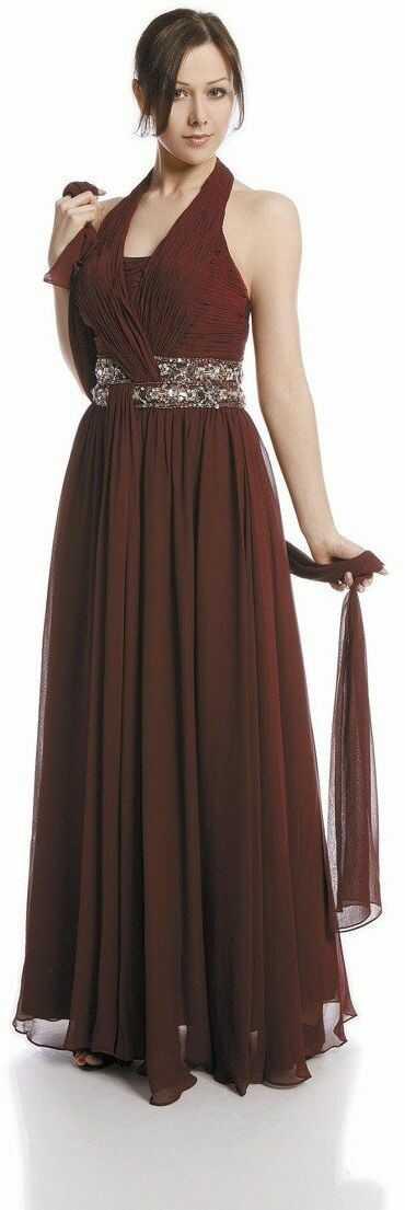FSU708 Suknie wizytowe Sukienka BURGUND