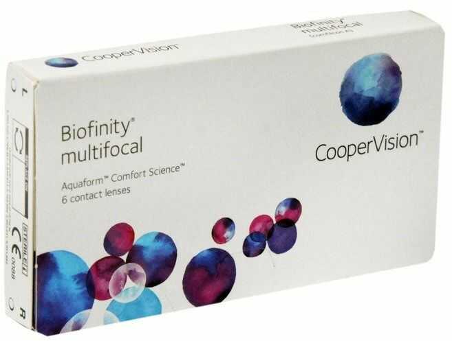 Soczewki Biofinity Multifocal 3szt.