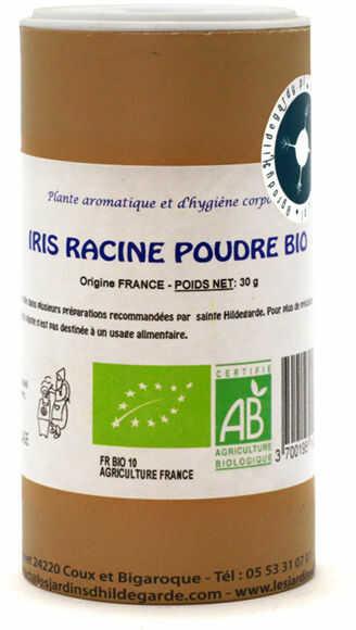 Przyprawy i zioła - Kosaciec (irys) korzeń sproszkowany 30g Bio*, - 40039