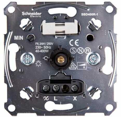 Merten Ściemniacz obrotowy 40-400VA 230V MTN5131-0000