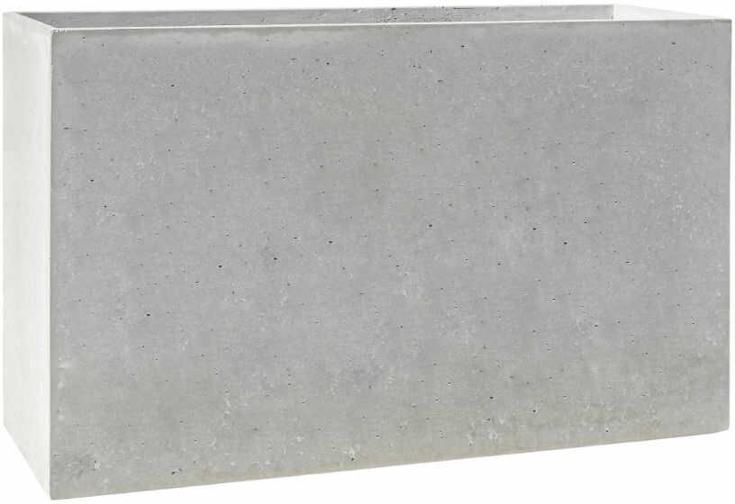Donica betonowa MURO XL 120x30x70 szary naturalny