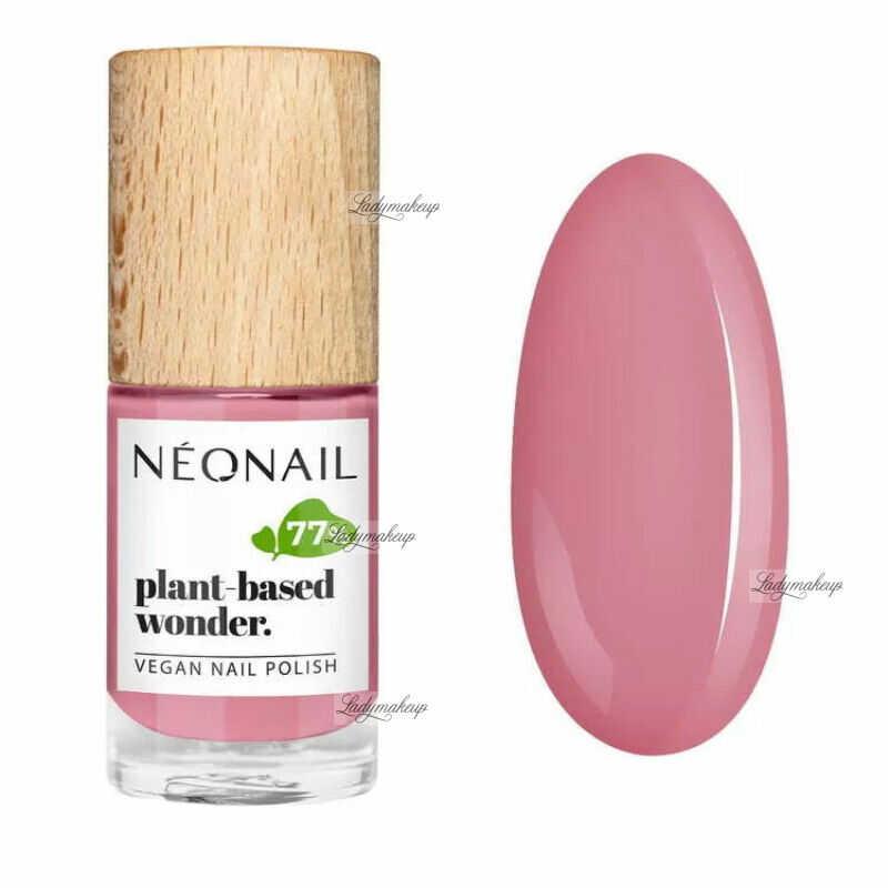 NeoNail - Plant-based wonder - Vegan Nail Polish - Wegański lakier do paznokci - 7,2 ml - 8673-7 - PURE PEACH