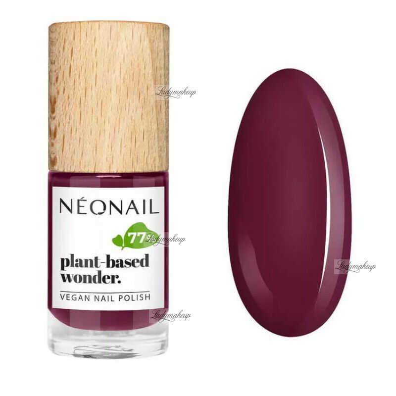 NeoNail - Plant-based wonder - Vegan Nail Polish - Wegański lakier do paznokci - 7,2 ml - 8679-7 - PURE GRAPE