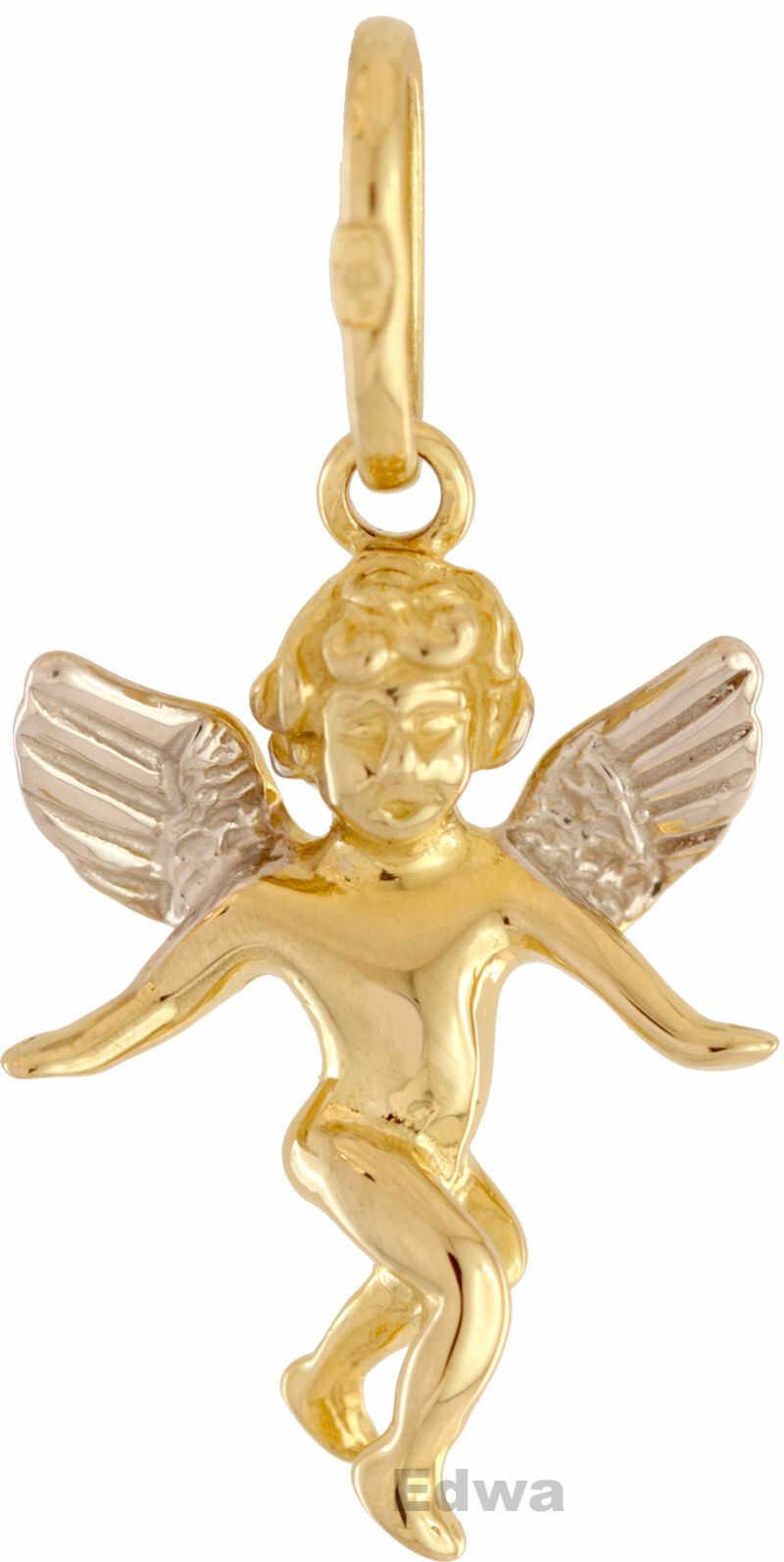 Zawieszka złota Aniołek pr. 0.585