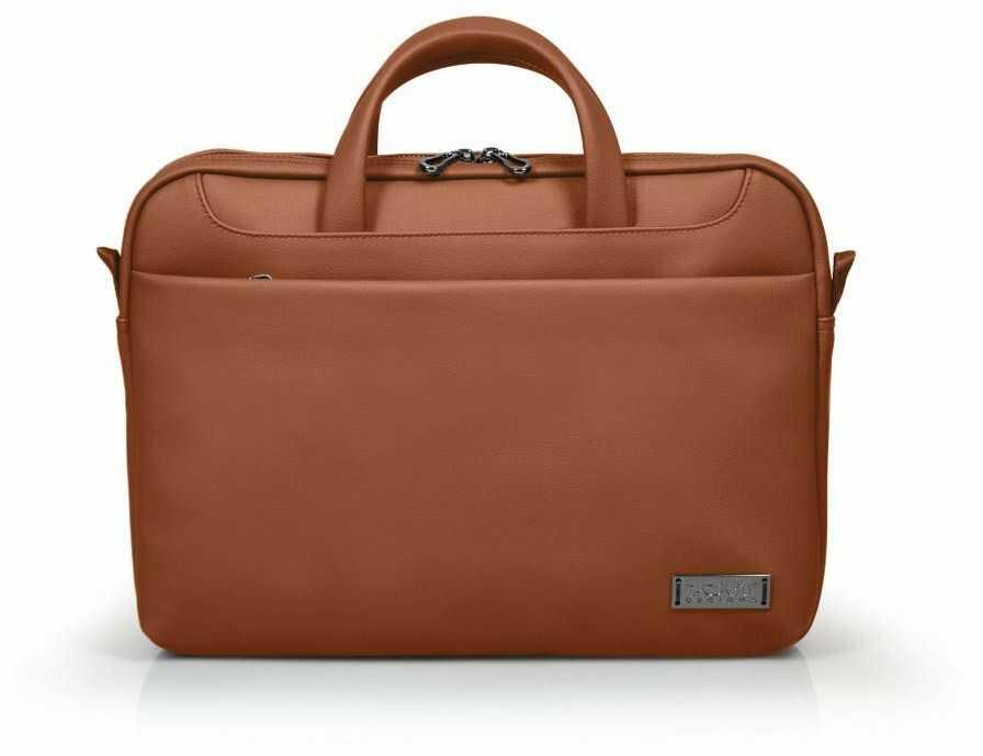Port Designs Zurych Toploading 35,5 cm teczka brązowa torba na notebooka teczka 35,5 cm pasek na ramię 750 g brązowy