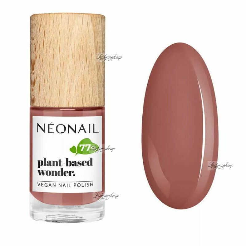 NeoNail - Plant-based wonder - Vegan Nail Polish - Wegański lakier do paznokci - 7,2 ml - 8687-7 - PURE CORAL