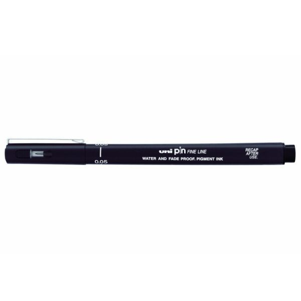 Cienkopis kreślarski UNI PIN-200 0,5 mm czarny - X06233