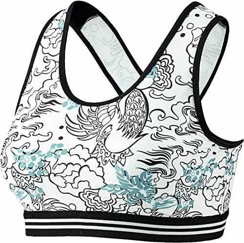 Beco damskie bikini Beco damskie bikini Crop, z zapięciem na plecach, 3-stopniowa regulacja, wszyte wkładki, nadają się jako miseczka B lub C wielokolorowa biały/kośćrowy 40