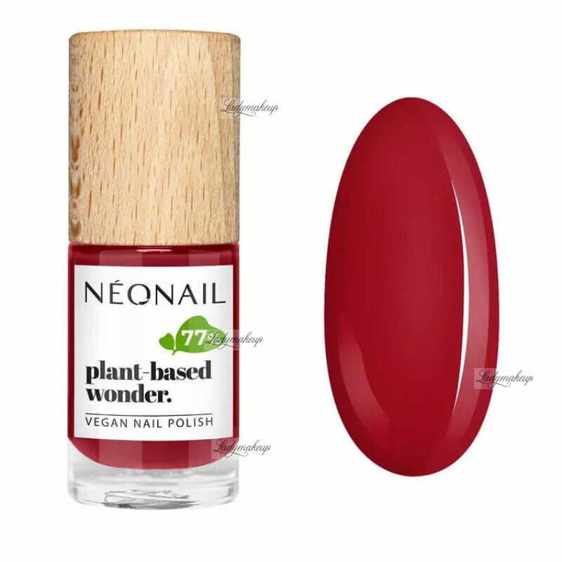 NeoNail - Plant-based wonder - Vegan Nail Polish - Wegański lakier do paznokci - 7,2 ml - 8684-7 - PURE STRAWBERRY