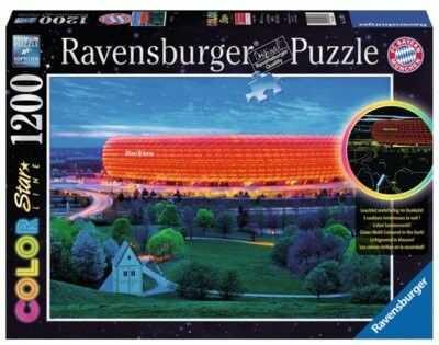 Puzzle Ravensburger 1200 - Allianz Arena, Monachium, München