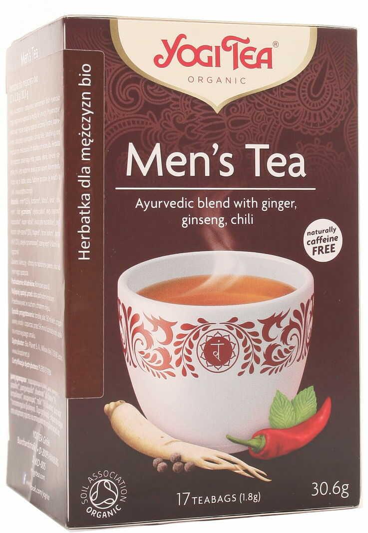 Herbatka Men''s BIO - Yogi Tea - 17 torebek