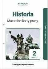 Historia LO 2 Maturalne karty pracy ZR cz.1-2 - Adam Balicki