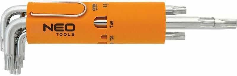 Klucze Torx T10-T50 /zestaw 8 szt./ 09-514