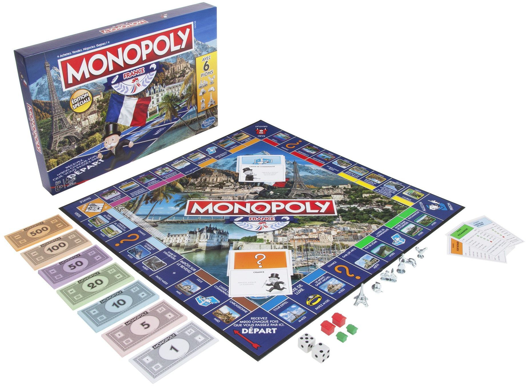 Monopoly  Game Edition France, E1653