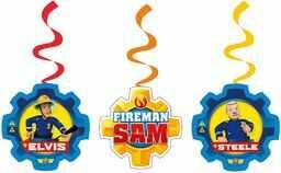amscan 11012083 Cbeebies wir dekoracja z motywem strażaka Sama - 6 szt.
