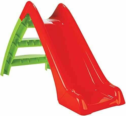 Jamara Happy Slide 460265 460265 dziecięca zjeżdżalnia Happy Slide  nadaje się do użytku wewnątrz i na zewnątrz, poręczny rozmiar, łatwy montaż
