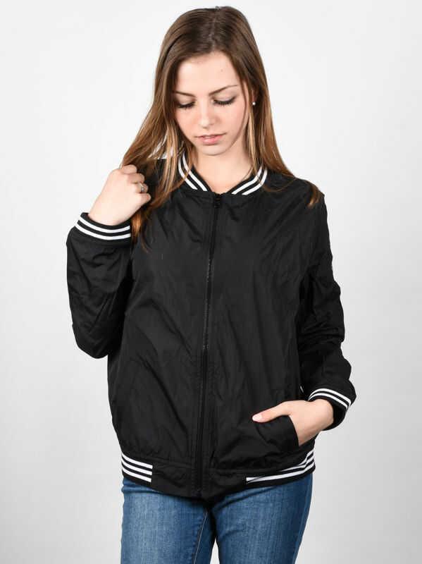Element BENNY FLINT BLACK wiosna kurtki kobiety - S