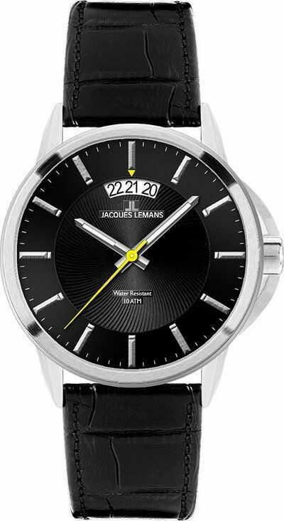 Zegarek Jacques Lemans 1-1540A - CENA DO NEGOCJACJI - DOSTAWA DHL GRATIS, KUPUJ BEZ RYZYKA - 100 dni na zwrot, możliwość wygrawerowania dowolnego tekstu.
