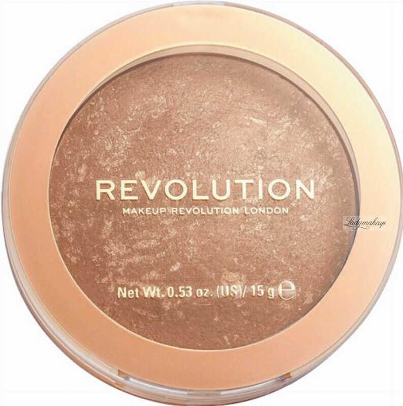 MAKEUP REVOLUTION - BRONZER RELOADED - Wypiekany bronzer do twarzy - LONG WEEKEND