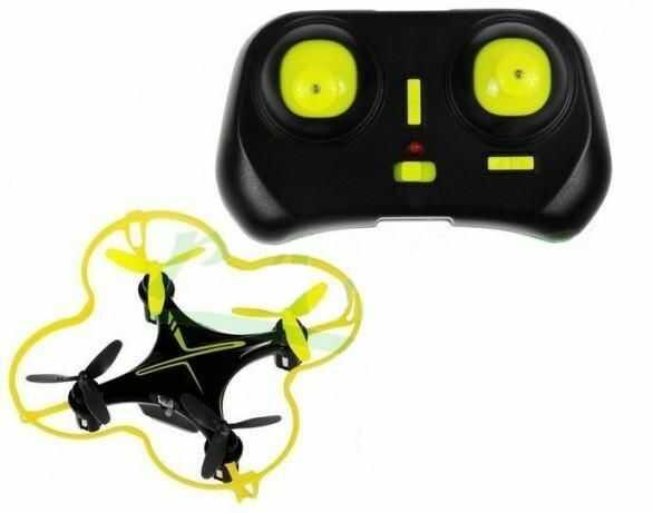 Wielofunkcyjny Mały Zdalnie Sterowany DRON + Kontroler do Sterowania + Oświetlenie + Akcesoria...