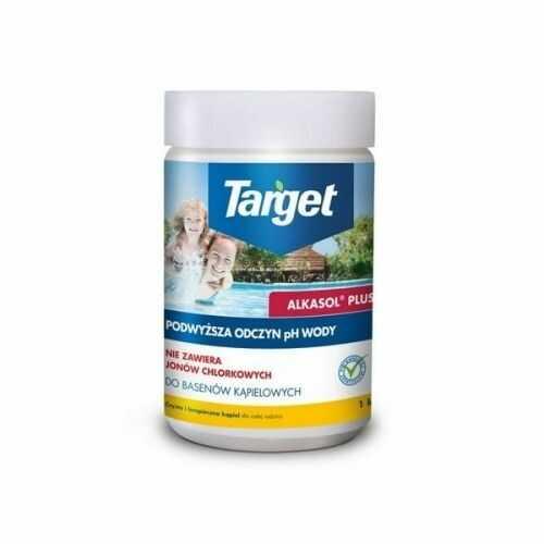 Alkasol plus  podwyższa odczyn ph wody  1 kg target
