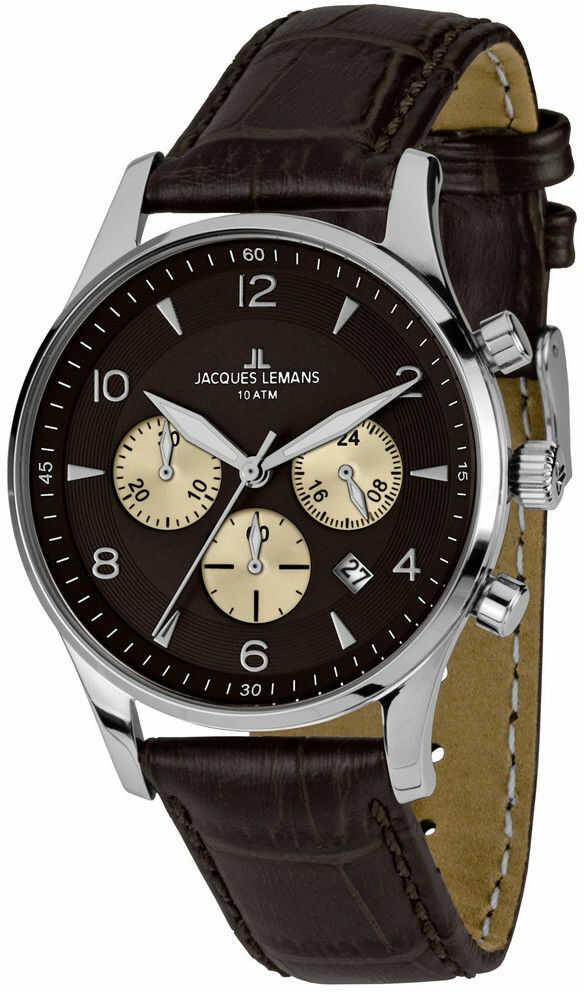 Zegarek Jacques Lemans 1-1654D - CENA DO NEGOCJACJI - DOSTAWA DHL GRATIS, KUPUJ BEZ RYZYKA - 100 dni na zwrot, możliwość wygrawerowania dowolnego tekstu.