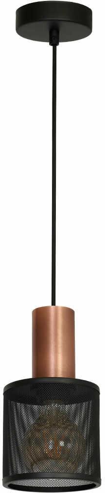 Lampa zwis ARES LOFT Czarna 1xE27 MLP3724 Milagro  SPRAWDŹ RABATY  5-10-15-20 % w koszyku