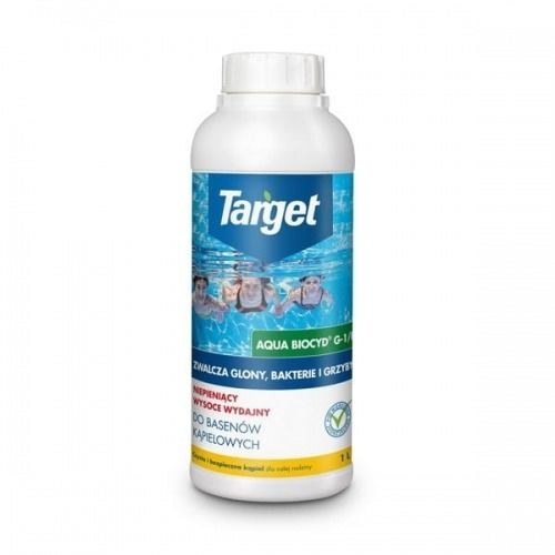 Aqua biocyd g-1/r  zwalcza glony bakterie i grzyby  1 l target