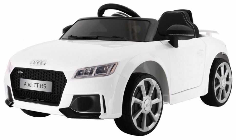Pojazd Ramiz Samochód Audi R8 Spyder RS EVA biały
