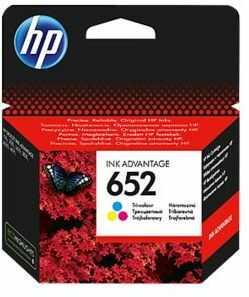 Tusz HP 652 Trójkolorowy F6V24AE