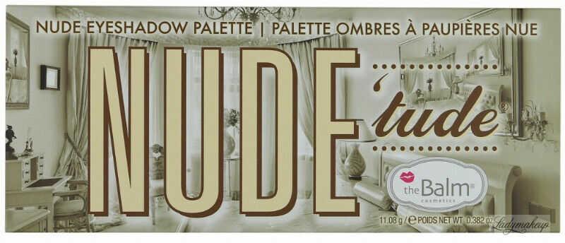 THE BALM - NUDE ''tude - Paleta 12 cieni