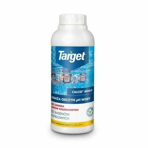 Calcid minus  obniża odczyn ph wody  1 l target
