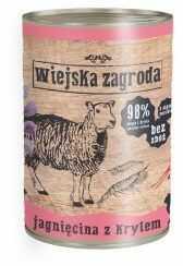 Wiejska Zagroda Jagnięcina z Krylem 400 g