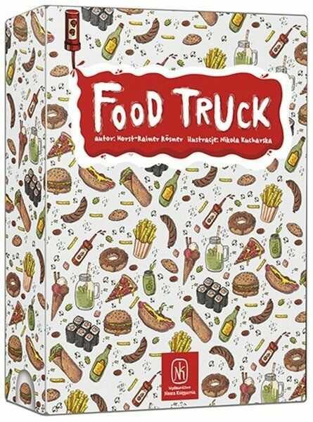 Gra - Food Truck - Nasza Księgarnia
