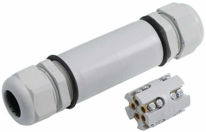 Złącze kablowe /mufa skręcana/ SP6 5x6mm2 PG21 IP67 E.4204