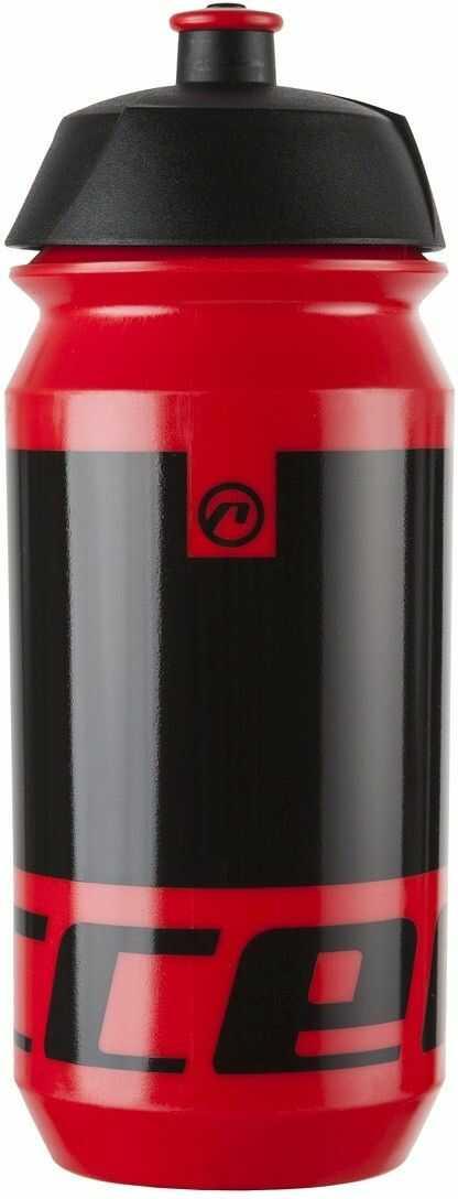 Bidon 0,5L ACCENT PEAK czerwono-czarny