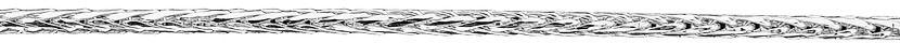 Złoty staviori łańcuszek linka spiga, białe złoto 0,585.