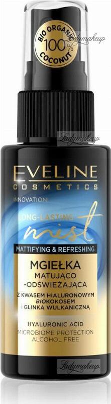 Eveline Cosmetics - Long-Lasting Mist - Matująco-odświeżająca mgiełka do twarzy - 50 ml