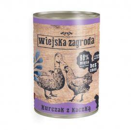 Wiejska Zagroda Kurczak z Kaczką 400 g