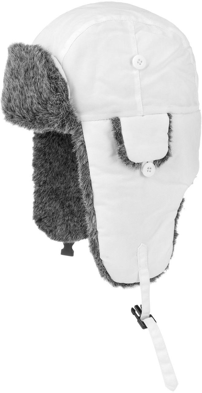 Czapka Pilotka Eco Polar Lapeer, biały, M (56-57 cm)