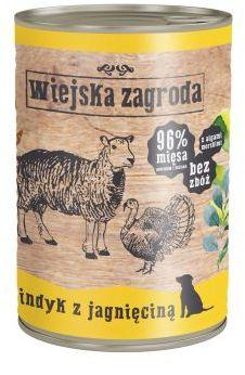 Wiejska Zagroda Indyk z Jagnięciną 400 g