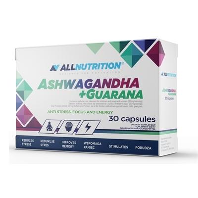 Ashwagandha + Guarana 30 kapsułek