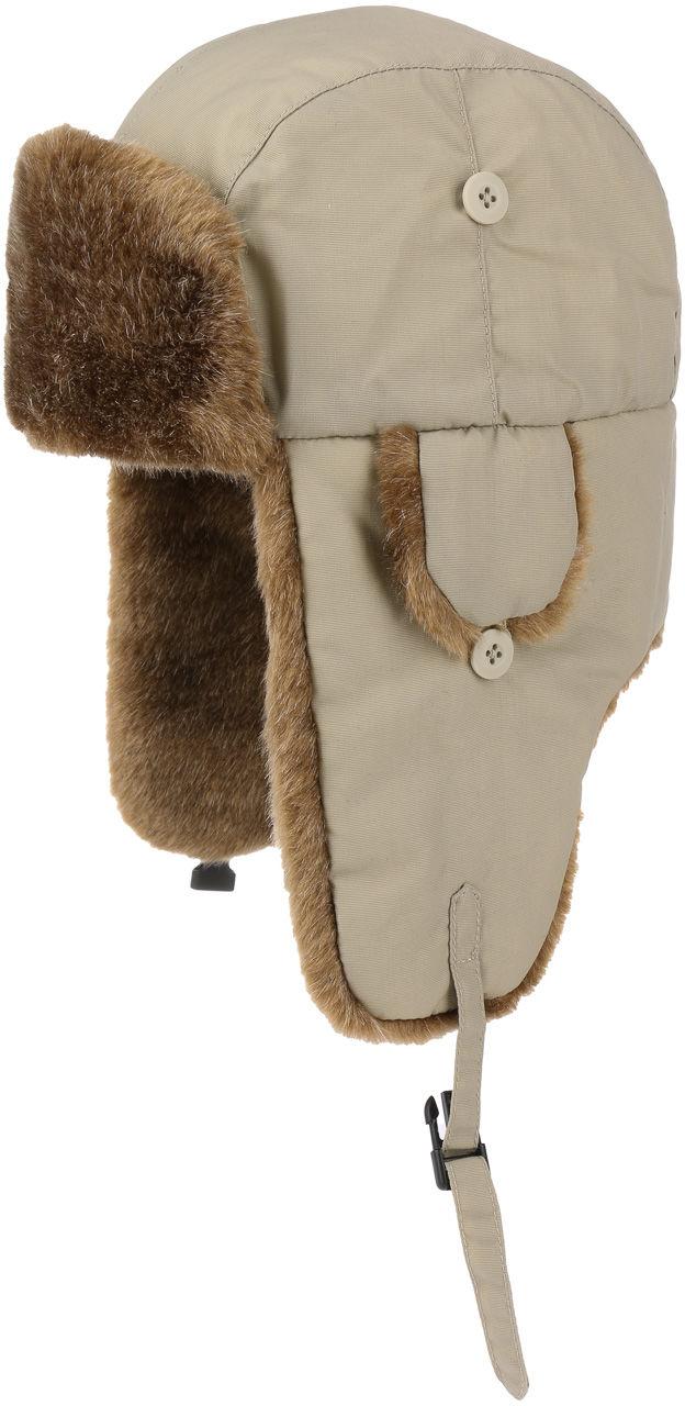 Czapka Pilotka Eco Polar Lapeer, beżowy, M (56-57 cm)