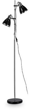 Lampa podłogowa ELVIS PT2 NERO 001197 -Ideal Lux  Skorzystaj z kuponu -10% -KOD: OKAZJA