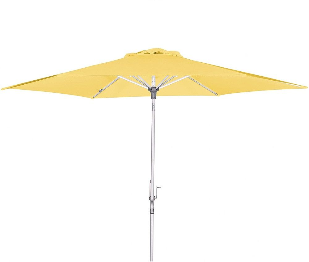 Parasol ogrodowy BrellaCo 305cm żółty