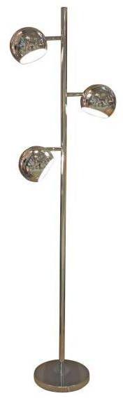 Lampa podłogowa Trinton AZ0024 AZzardo chromowana oprawa w stylu design