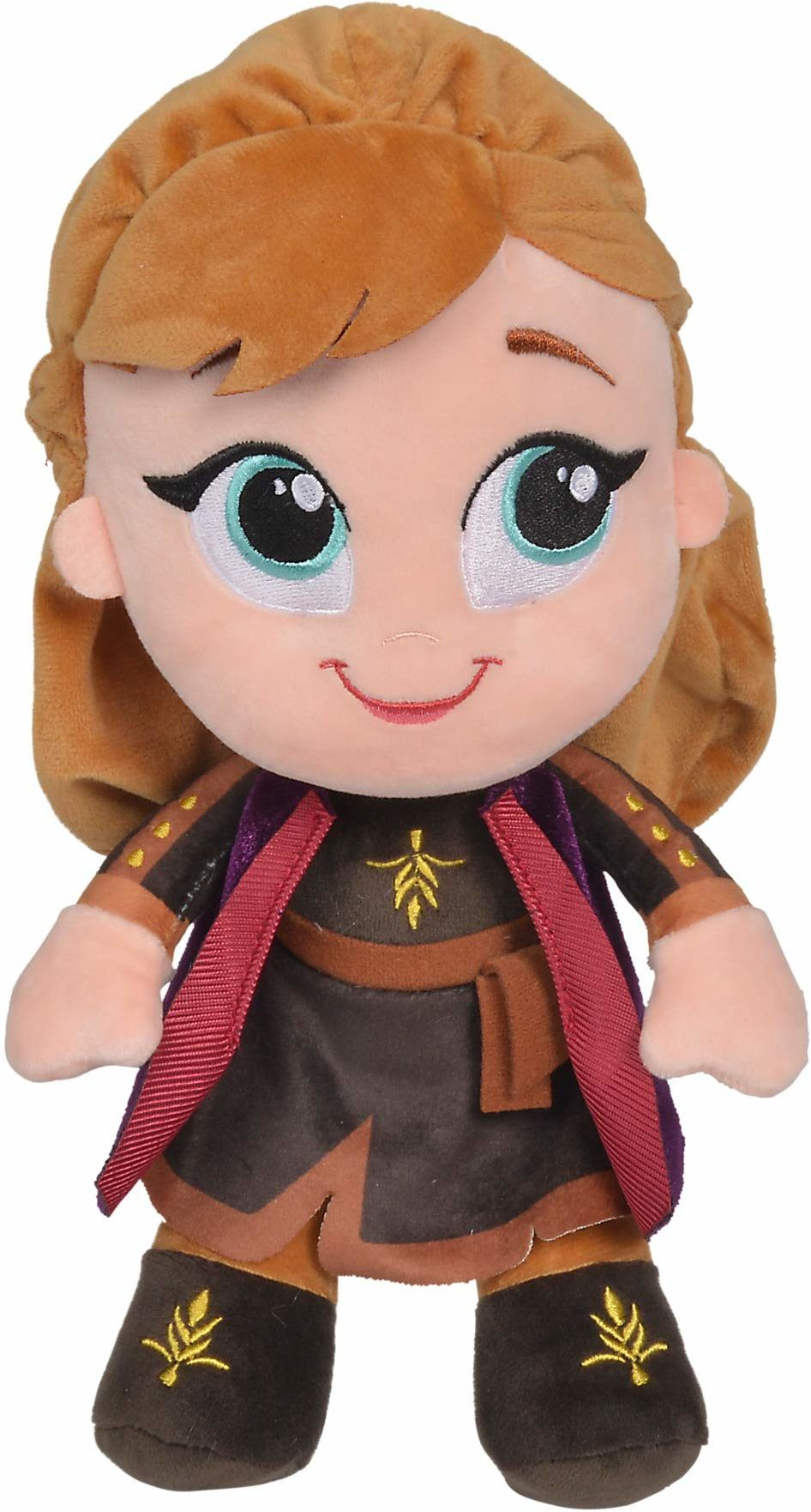 Simba 6315877554 Disney Frozen 2, Maskotka Chunky Anna 6315877554