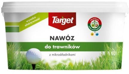 Nawóz do trawnika  z mikroelementami  4 kg target