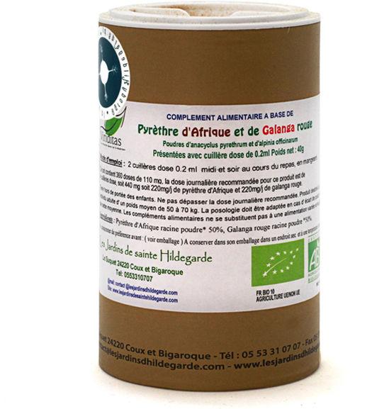 Przyprawy i zioła - Mieszanka bertram z galgantem 40g, - 60161